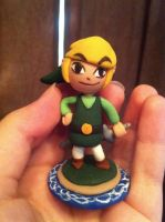 Wind Waker Link in sculpey by pancakesandhalibut