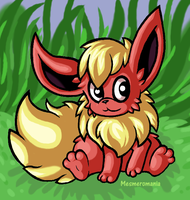 Flareon by Mesmeromania