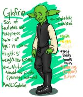 Gobliny sheet of ref by Kingess