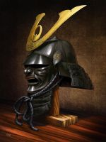 Samurai helmet by Renegraphics