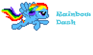 Rainbow Dash by THEmask225