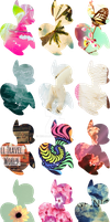 CHEAP MYSTERY PONY IMAGE THEME ADOPTS - by XSoja