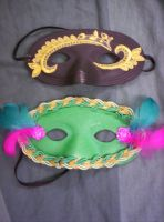 Romeo and Juliet Masks VIII by Fruits-Punch-Samurai