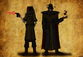 Gear and Time Casters of Tenebrae by TenebraesRising