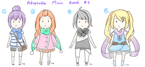 Adoptable Minis Batch 2 [Closed] by LeMochaCrumbles
