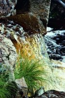 Waterfall detail by duncan-blues