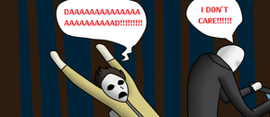 Slendy and Masky Play Happy Wheels by crazedlinkinparkfan
