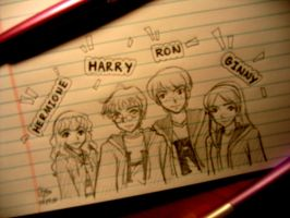 Harry Potter Love by pandahgirl