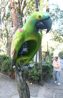 Parrot Phone by Ilovetodraw