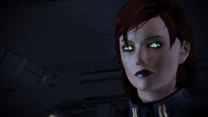 Commander Elizabeth Shepard (ME3) by The-Jedi-Exile