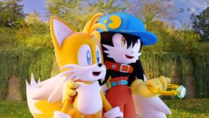 Tails and Klonoa by vicenticoTD