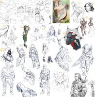:sktchdmp10: a BIG sketchdump by ufficiosulretro