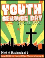 Service Day Flyer by Treybacca