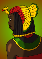 Queen of Kwanzaa by BrandonSPilcher