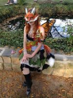 Fox Fairy Costume by Silver-Sully