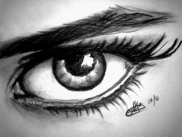 10 min eye sketch by rayjaurigue