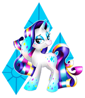 Rarity Rainbow Power by allocen