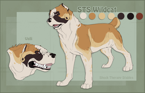 STS Dog- Valli by ShockTherapyStables