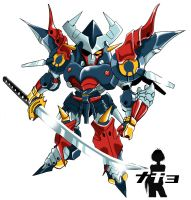 super robot wars DAIZENGAR xD by youchan