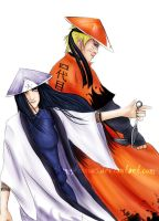 Hokage Duo - Naruto Next Hokage Contest Entry by shamylicious