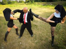 Hitman: Absolution Cosplay Session 19 by Bahamut-Eternal