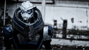 Garrus Vakarian - Take earth back - by Alexwazz