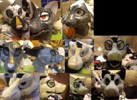 Fursuit WIP dump by Yamishizen