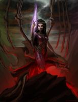 Queen of Blades by mirrors519