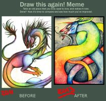 Draw this again meme by Missleepify
