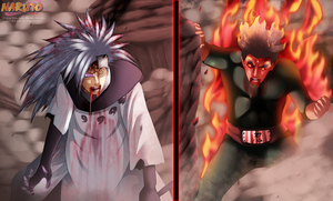 Naruto 671 - Madara Vs Gai by HikariNoGiri