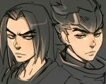 Shimada Brothers (Overwatch) by ManiacPaint