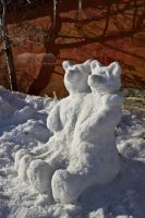 Snow Bear Buddies by ColeJA