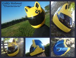 Celty Helmet by meanlilkitty