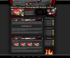 Gameding Webdesign ...4Sale... by pcwunder