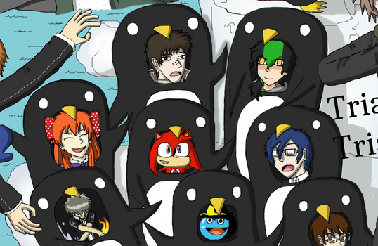 Nicoverse: The Penguin Galley by AnonEars