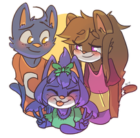 little family by pumpkinuffin