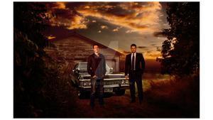 SPN Poster by Me by Yoake723