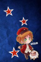 Hetalia iWallpapers - New Zealand by Dreamweaver38