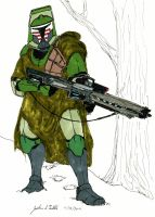 Clone Sharpshooter Armor Hunter by Tribble-Industries