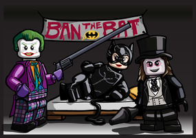 LEGO Batman Burton Villains by Catanas192