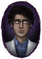Carlos the Scientist by glitchb0t