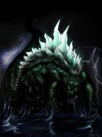 Godzilla in color by gfan2332