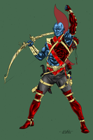 Yondu - turbosuo colors by SpiderGuile