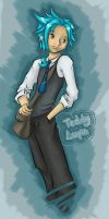 Teddy Lupin by o0Evo0o