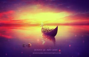 Boat of Dreams by JennyLe88