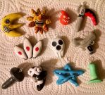 Soul Eater charms by TLOZMaster