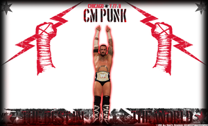 Champion Undisputed - Cm Punk by DecadeofSmackdownV3