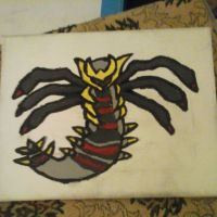 Giratina painting by fang180