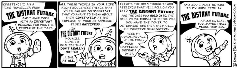 A Message from THE DISTANT FUTURE..! by kevinbolk