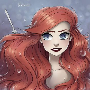 The Little Mermaid by natalico